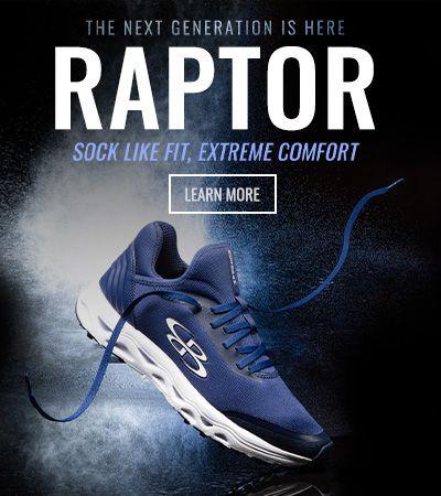 Raptor Footwear - Learn More