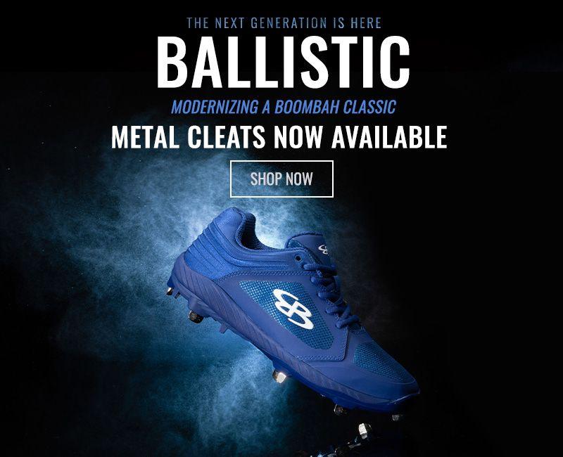 Ballistic Metal Cleats - Shop Now