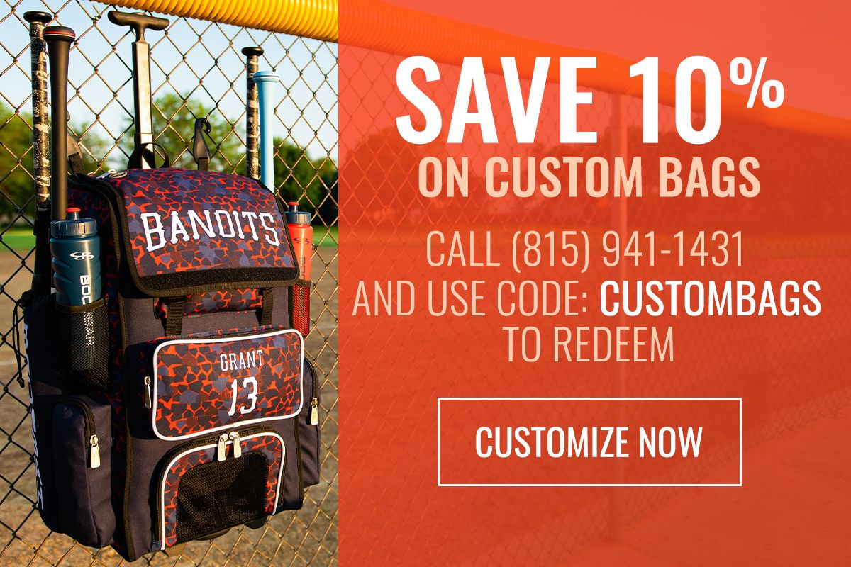 Save 10% on Custom Bags - Use Code CUSTOMBAGS