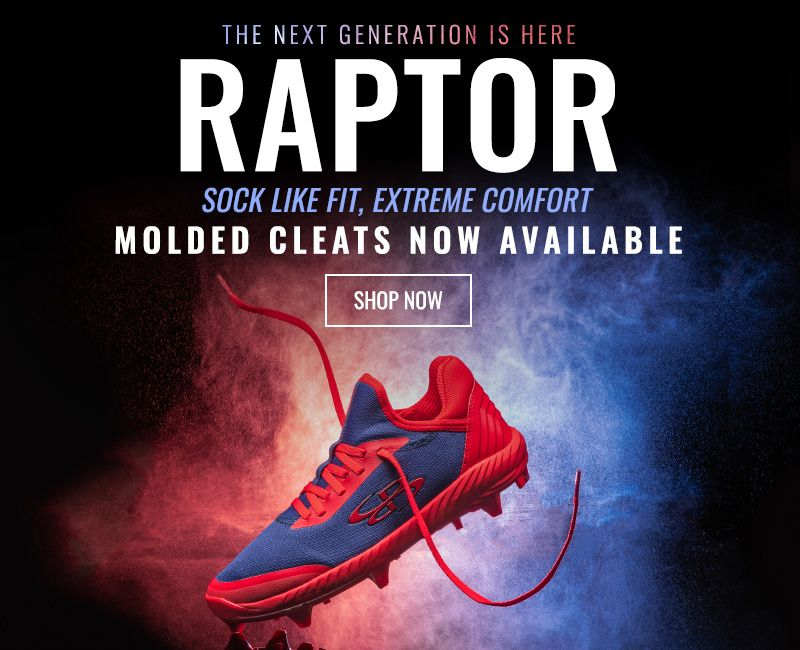 Raptor - Shop Now - Molded Cleats Now Available