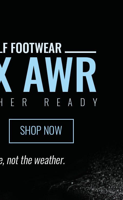 All-New Golf Footwear - Vortx AWR - Learn More