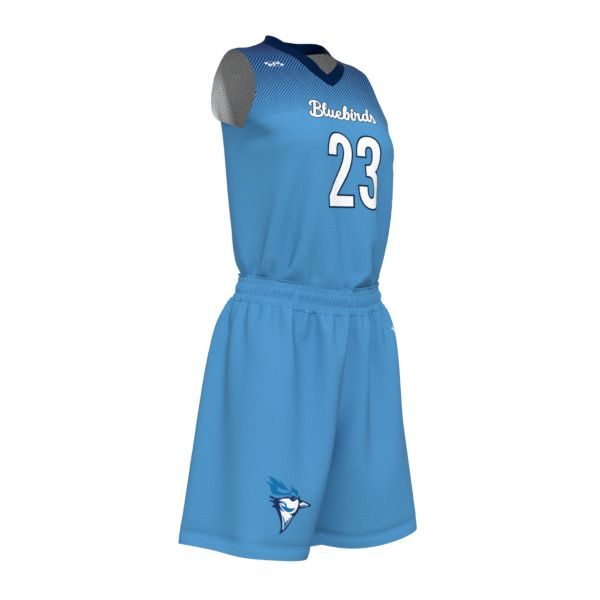 Custom Women's V-Neck Basketball Uniform