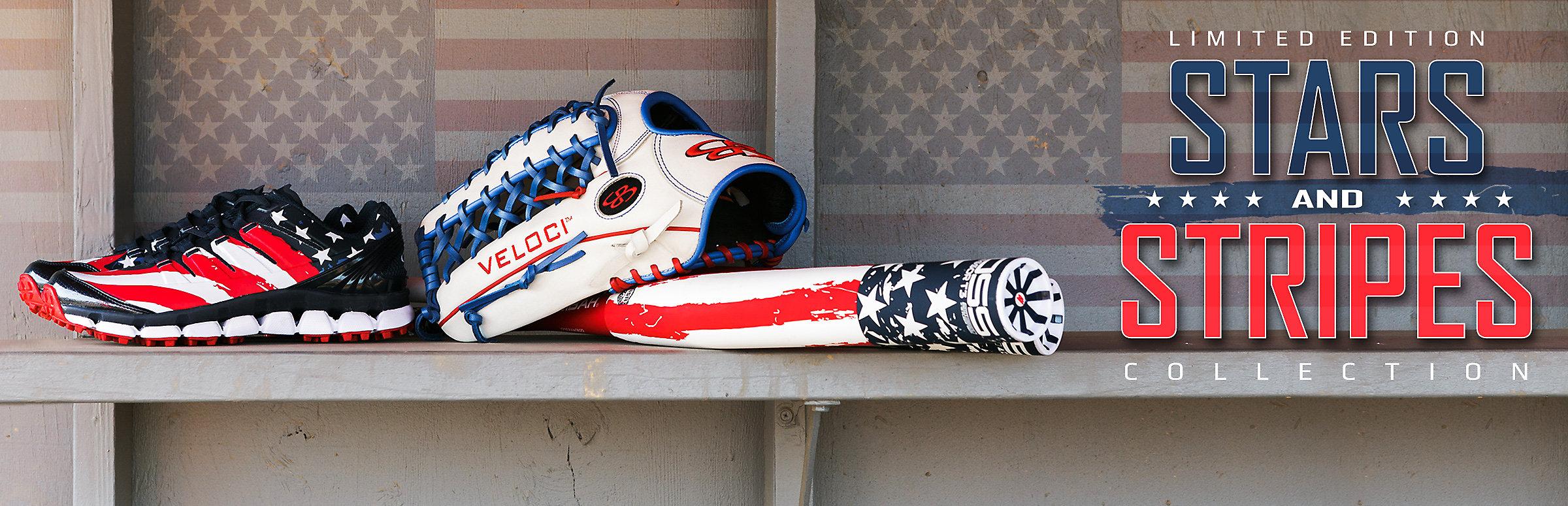 Stars & Stripes Boss Softball Bat