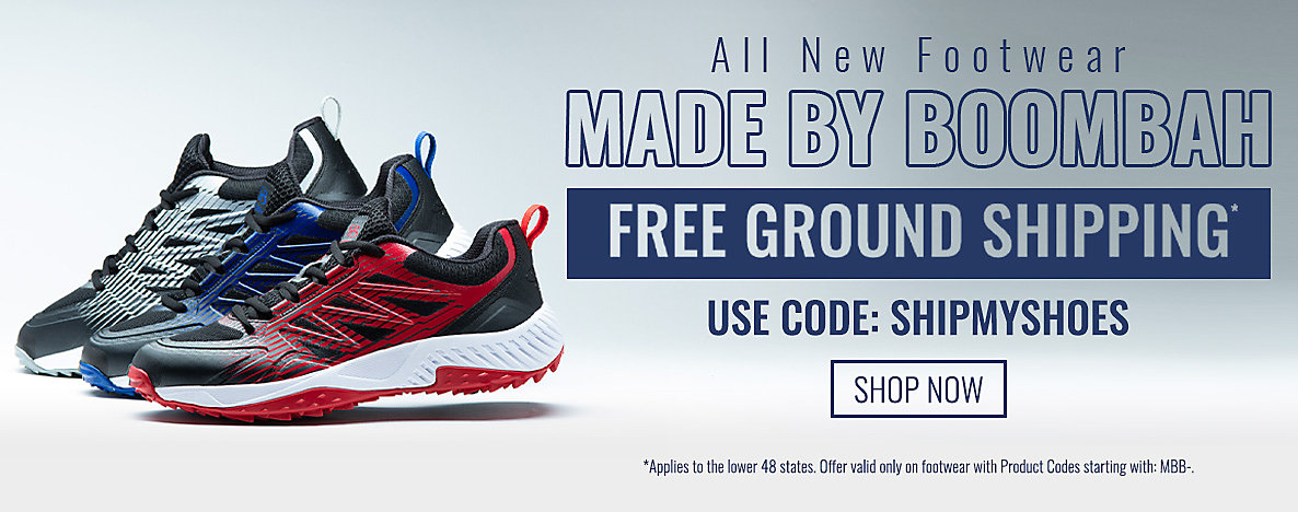 Get Free Shipping on All New Footwear