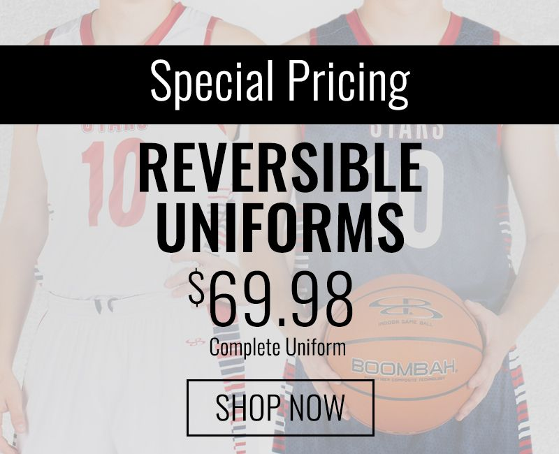 Special Pricing Basketball Uniforms