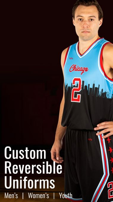Reversiable Basketball Uniforms