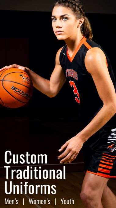 Traditional Basketball Uniforms