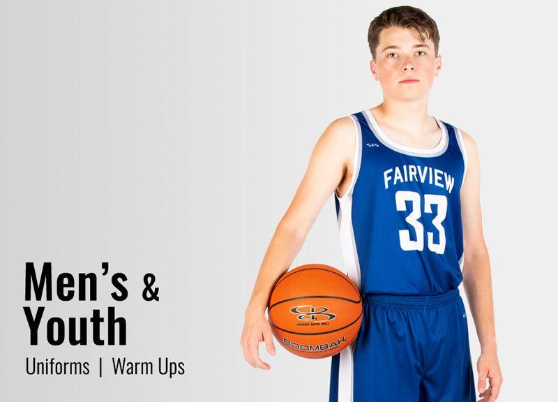 Custom Men's Basketball Uniforms & Jerseys