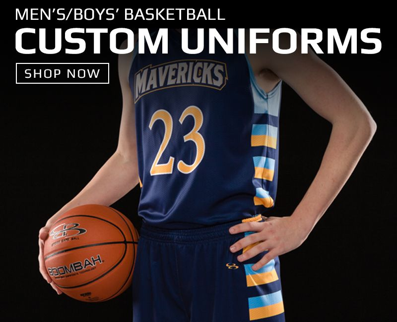 Boombah Custom Basketball Uniforms
