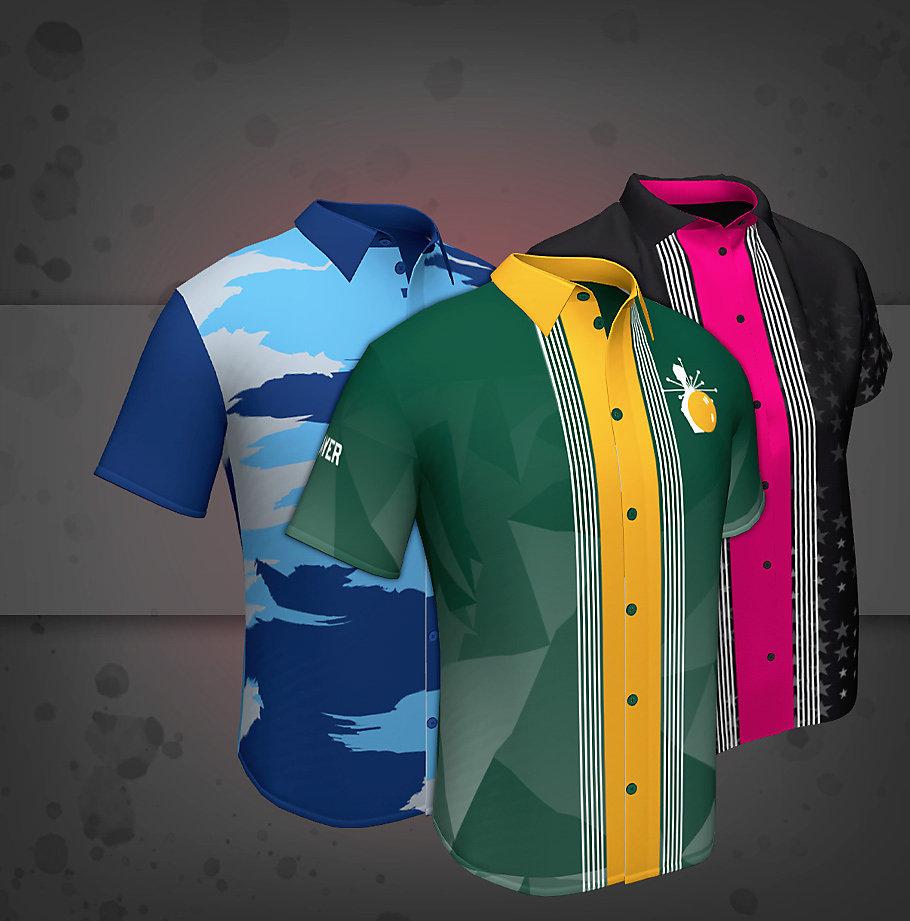 Custom Full Button Collar Jerseys