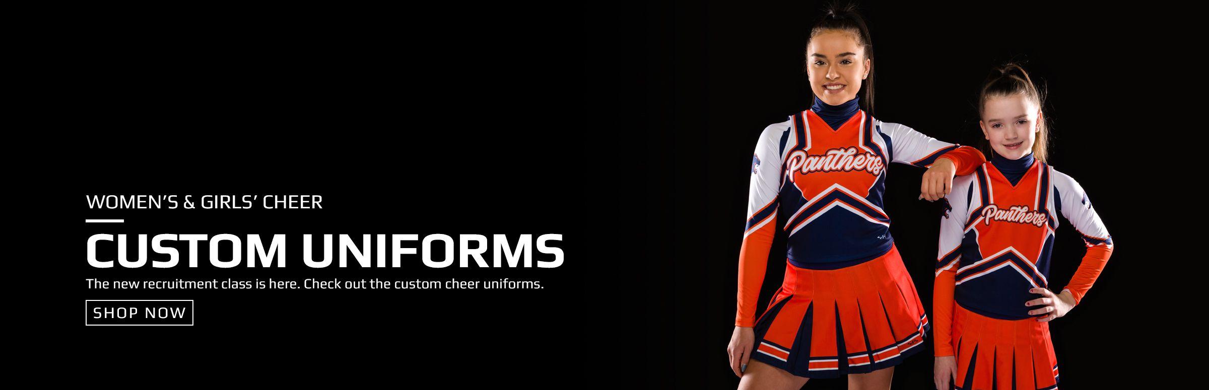 Boombah Custom Cheer Uniforms