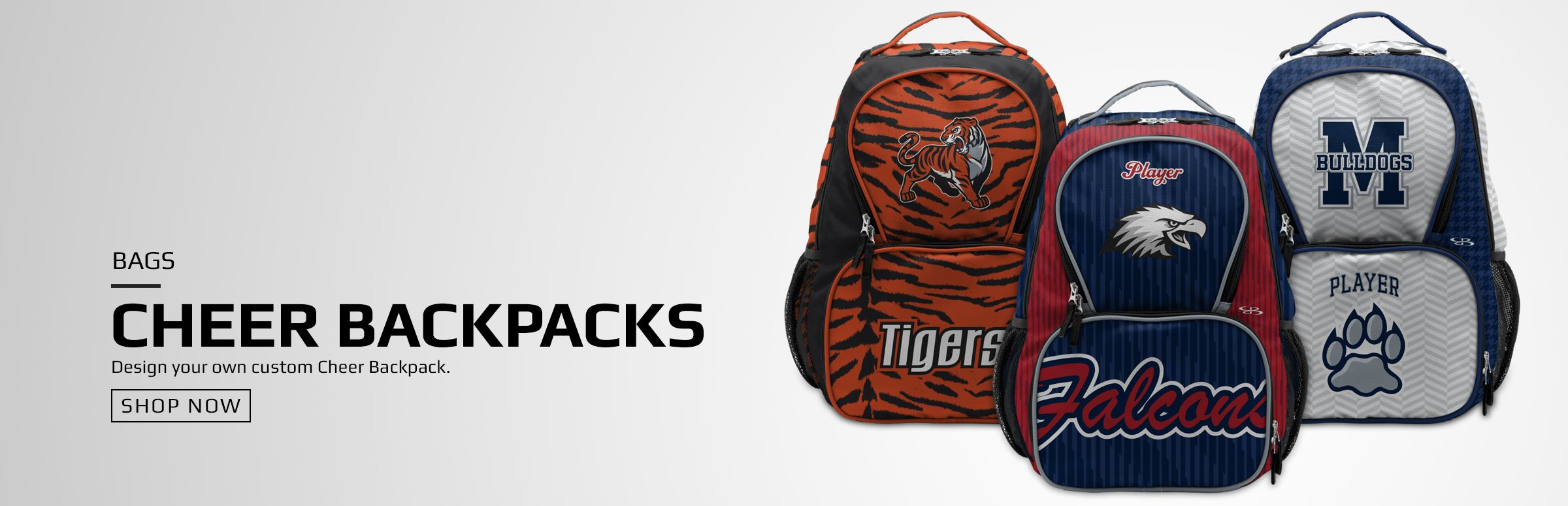 Boombah Custom Cheer Backpacks