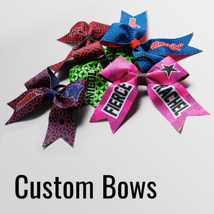 Custom Cheer Bows