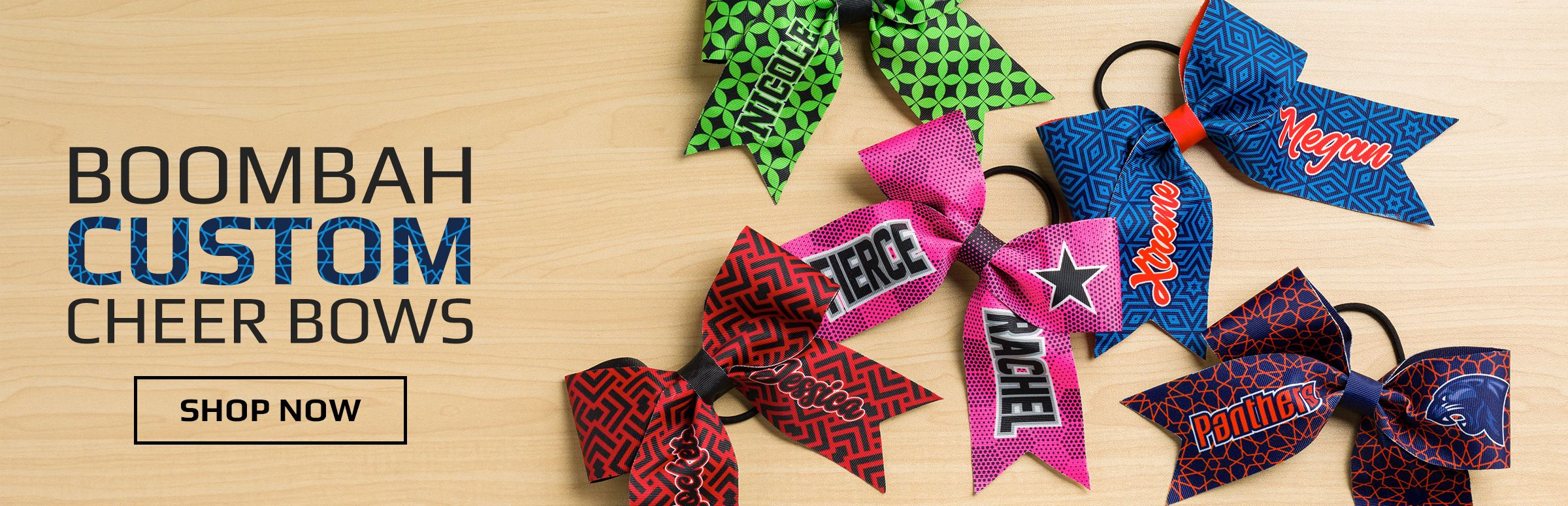 Boombah Custom Cheer Bows