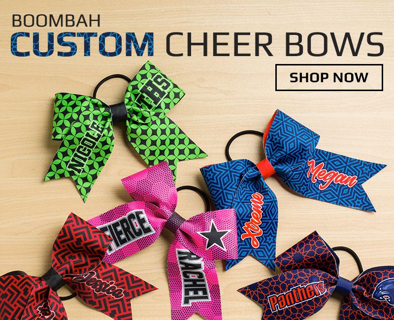 81534f7e3f8 Boombah Custom Cheer Bows Boombah Custom Cheer Bows