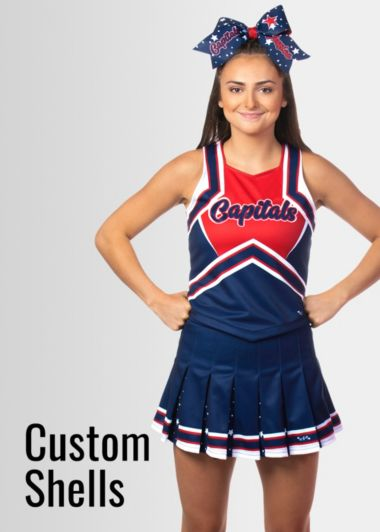 Custom Cheer Shells