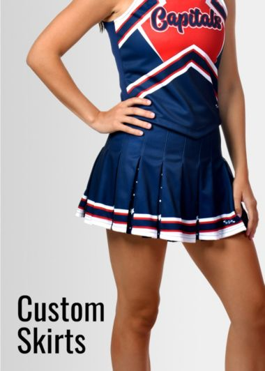 Custom Cheer Skirts