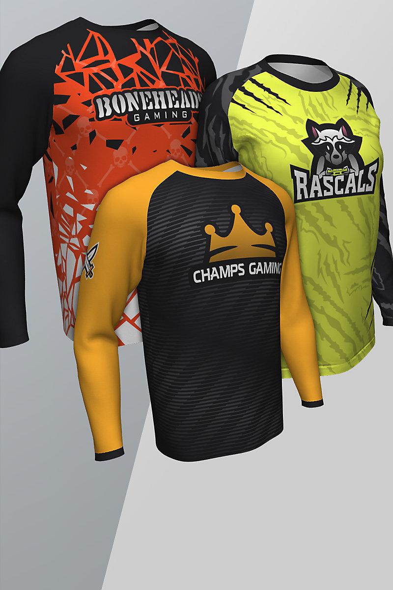 Long Sleeve Esports Custom Jeresys