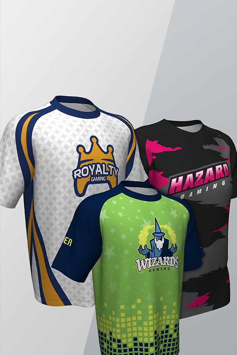 Short Sleeve Esports Custom Jerseys
