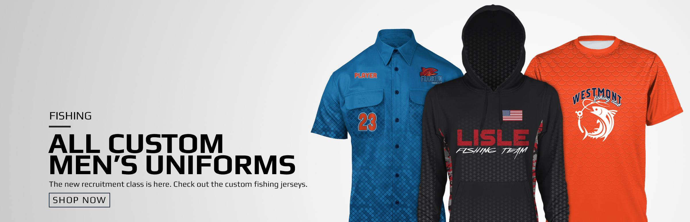 Boombah Custom Fishing Men's Uniforms