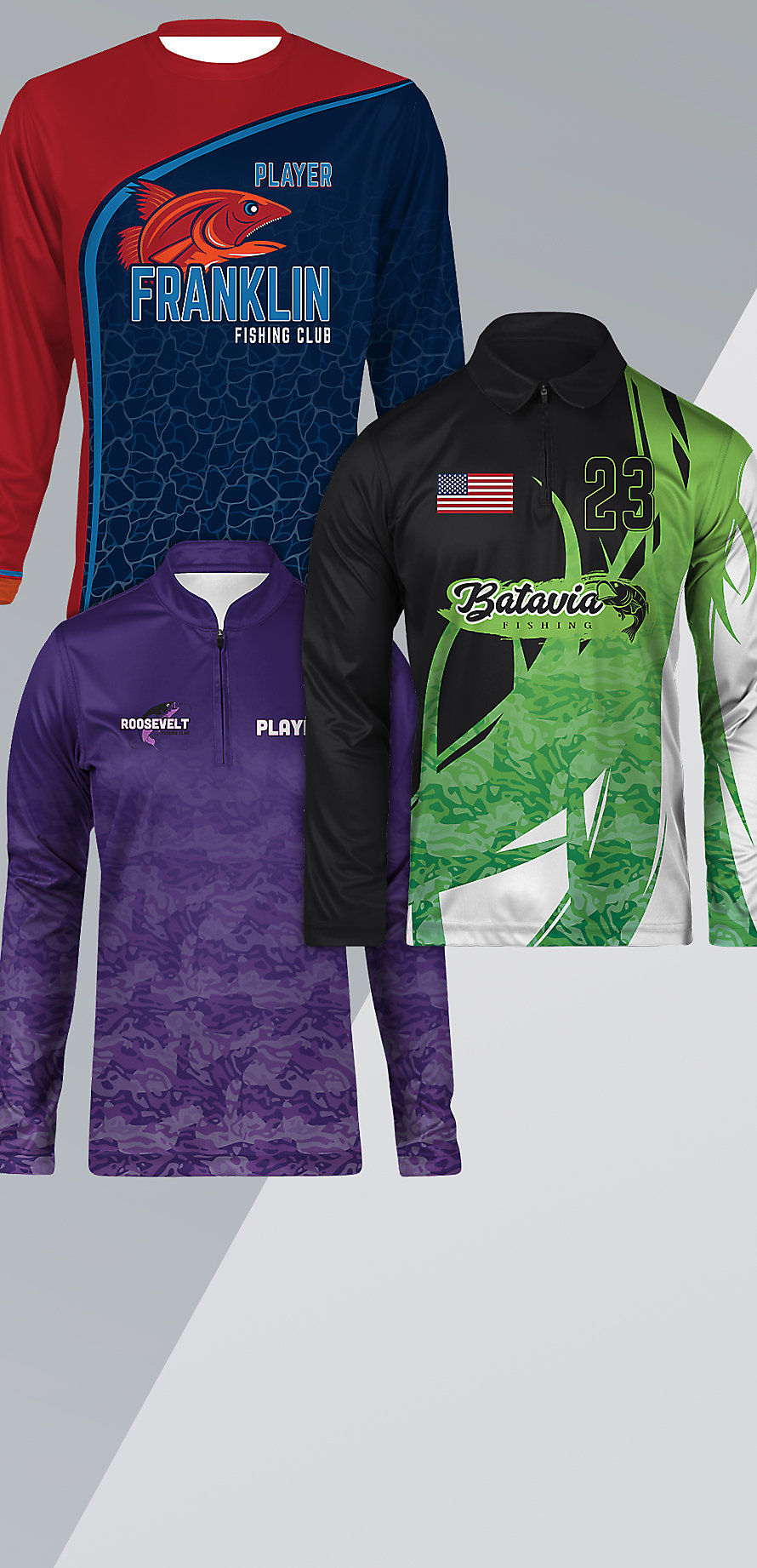 Shop Custom Long Sleeve Jerseys