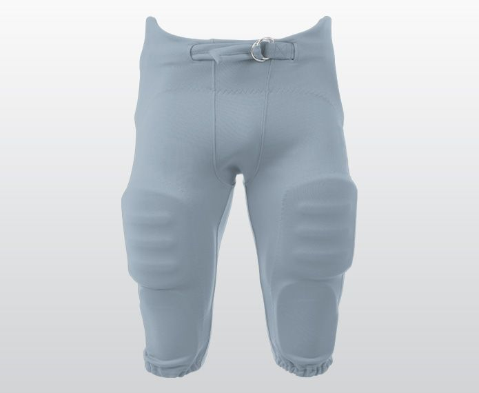 White integrated football pants