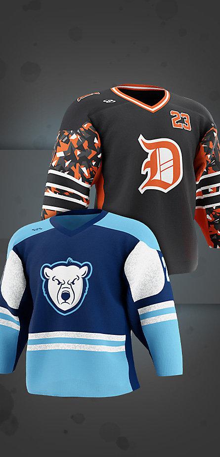Custom Hockey Goalie Jerseys