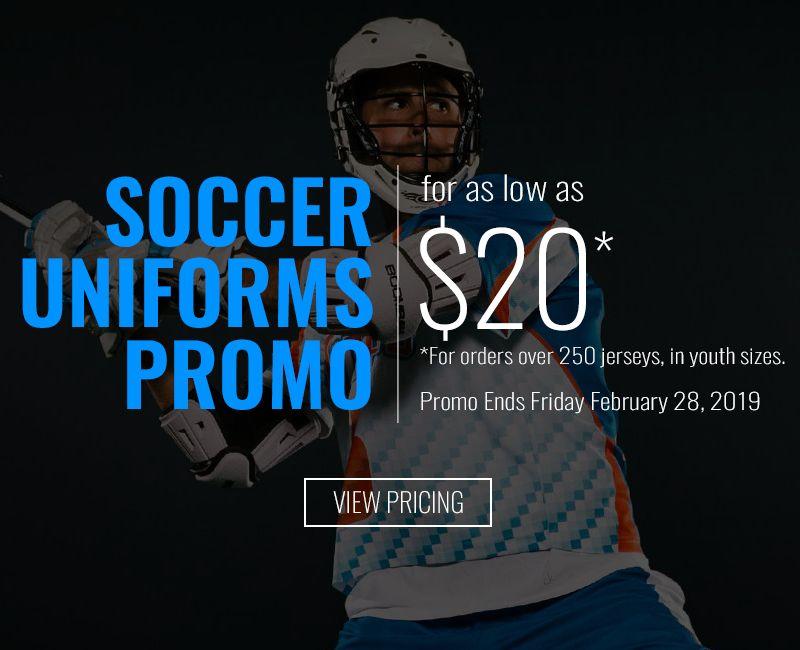 Lacrosse Uniforms Promo