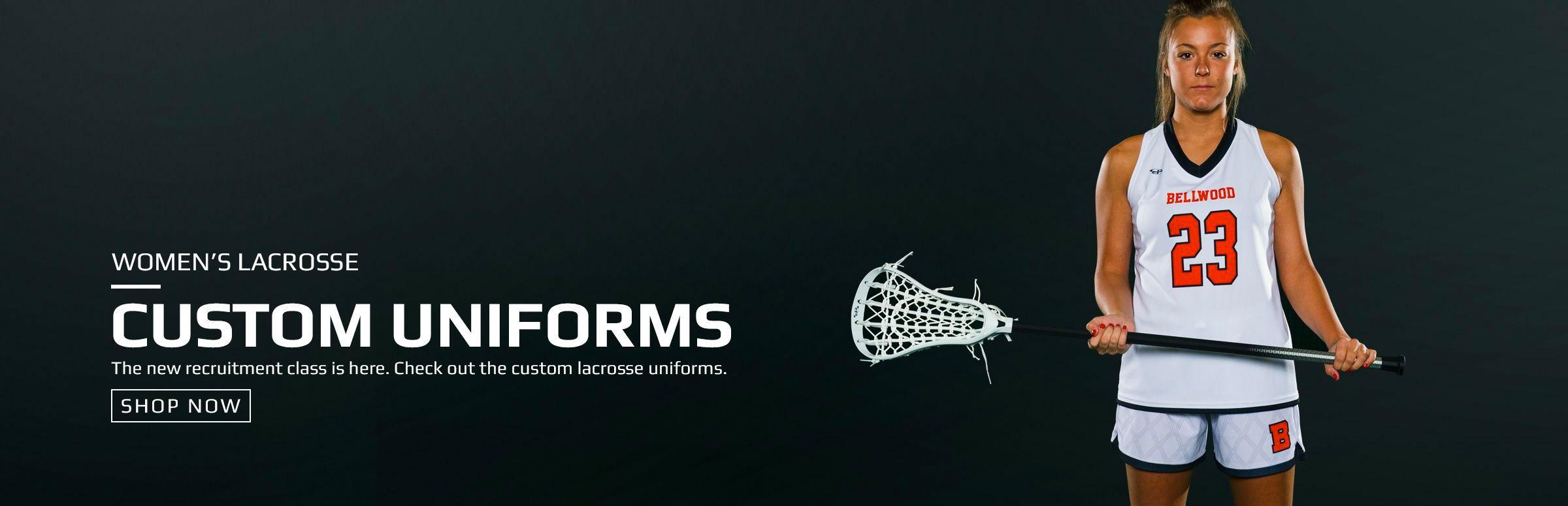Boombah Women's Custom Lacrosse Uniforms