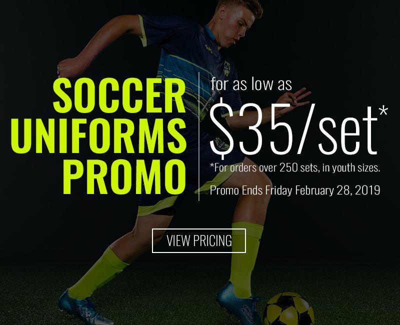 Soccer Uniforms Promo
