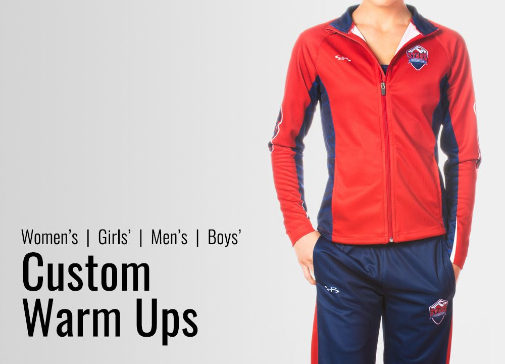 Custom Volleyball Warm-Ups