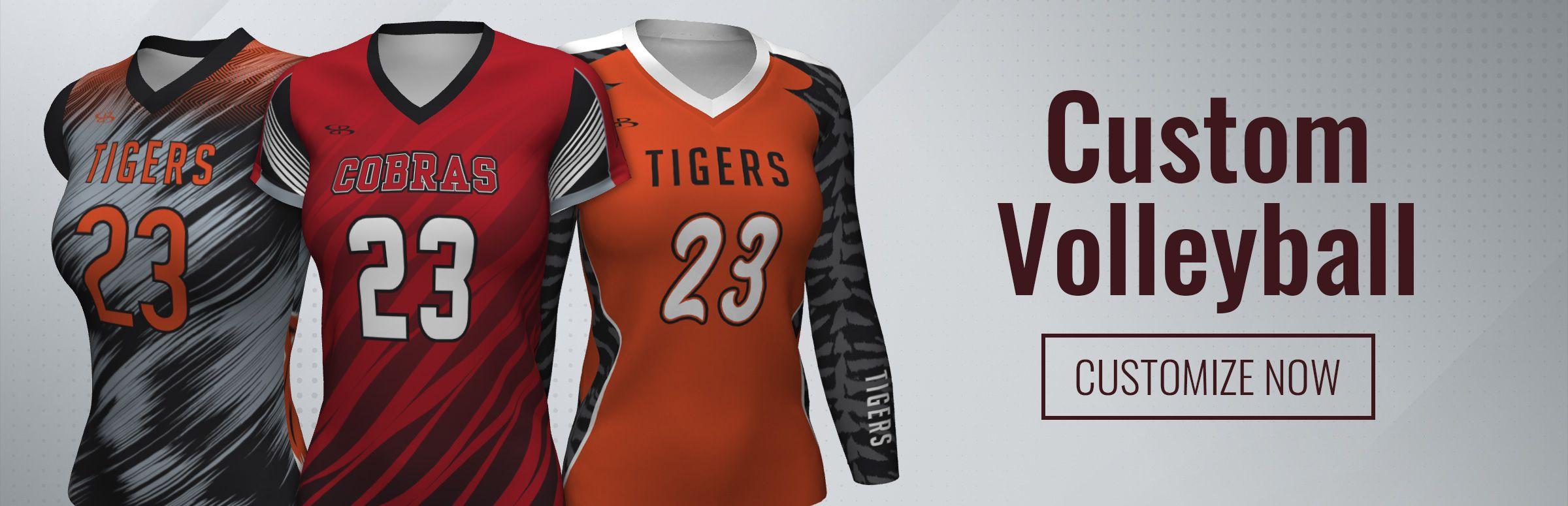 Custom Volleyball Uniforms