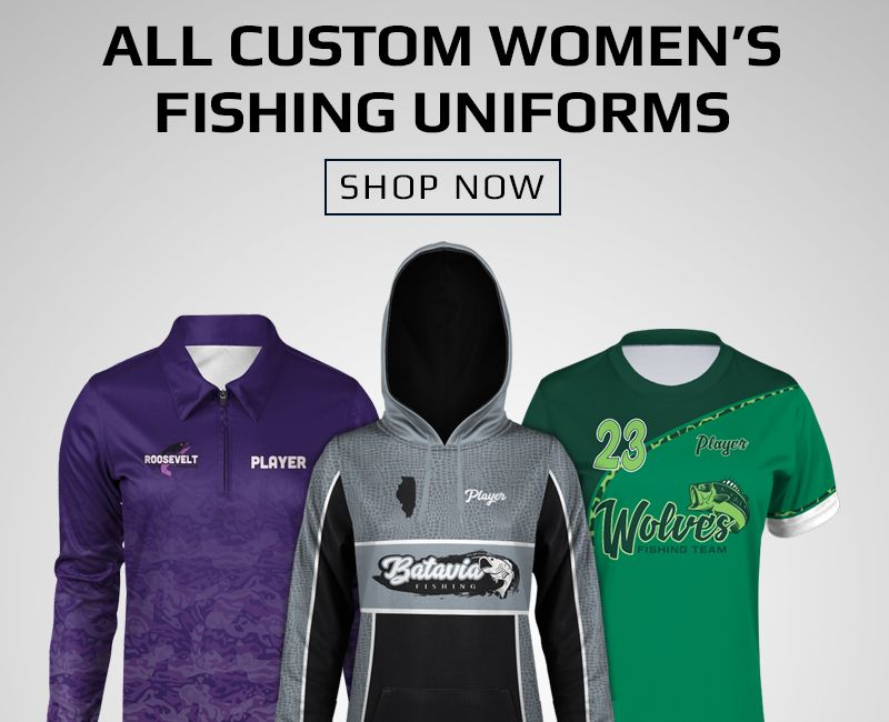 Boombah Custom Fishing Women's Uniforms
