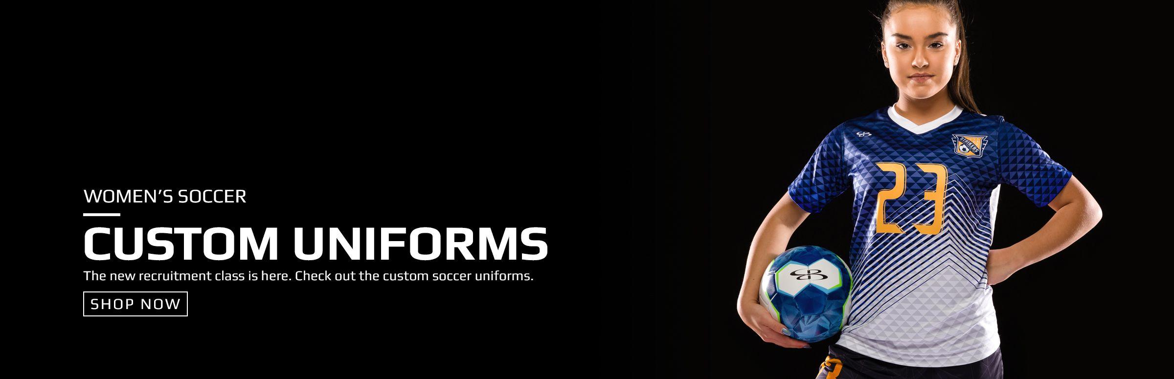 Boombah Custom Soccer Uniforms