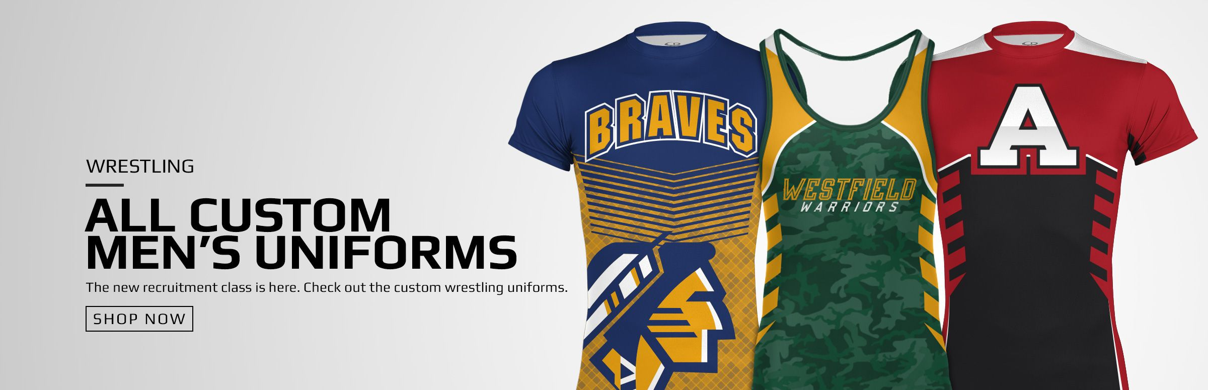 Boombah Custom Wrestling Uniforms