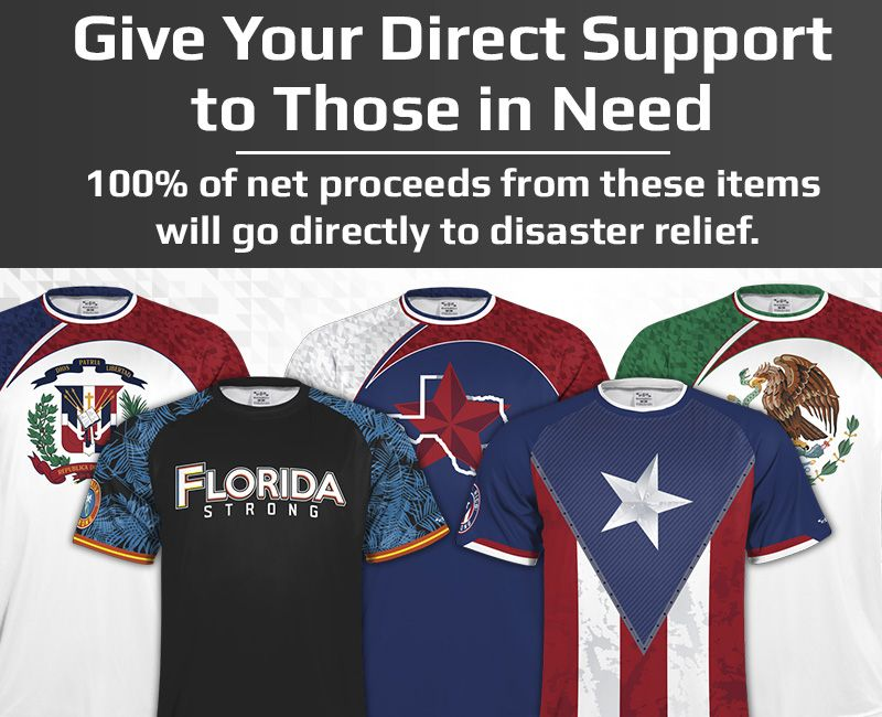 Disaster Relief Shirts