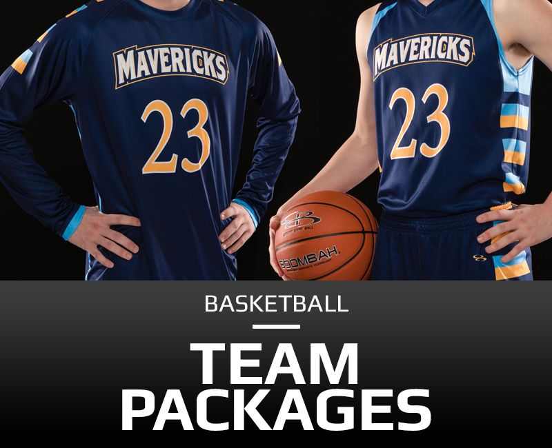 Custom Men's Basketball Packages