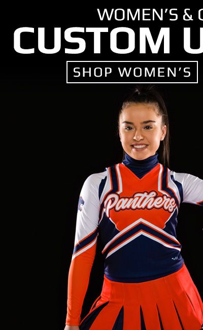 Shop Women's Custom Cheer Uniforms