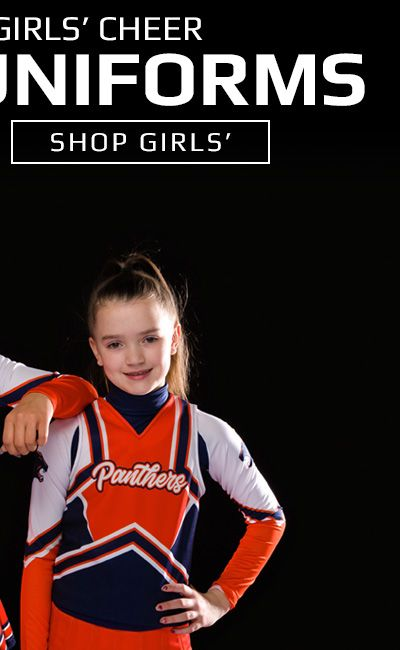 Shop Girls' Custom Cheer Uniforms