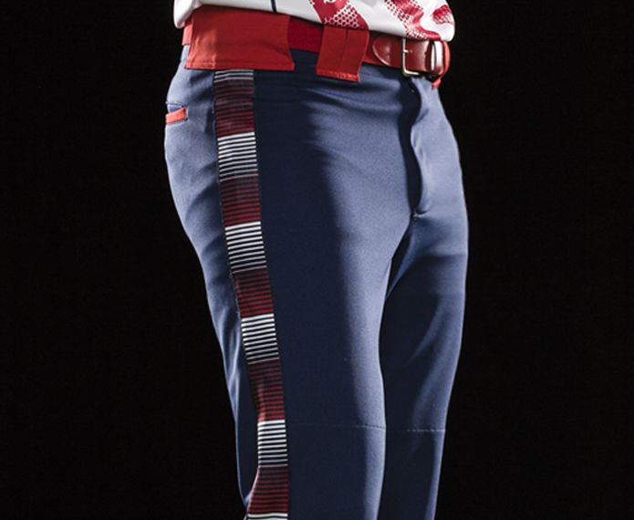 Custom Sublimated Braid Fastpitch Pants