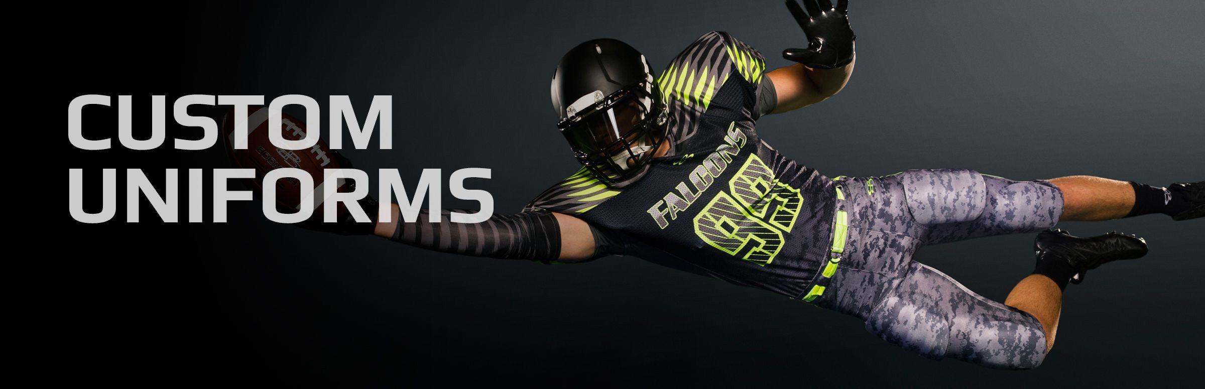 Boombah Custom Football Uniforms