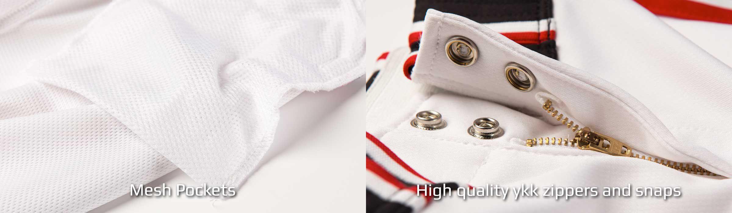 Boombah Hypertech Pant Mesh Pockets and Zipper