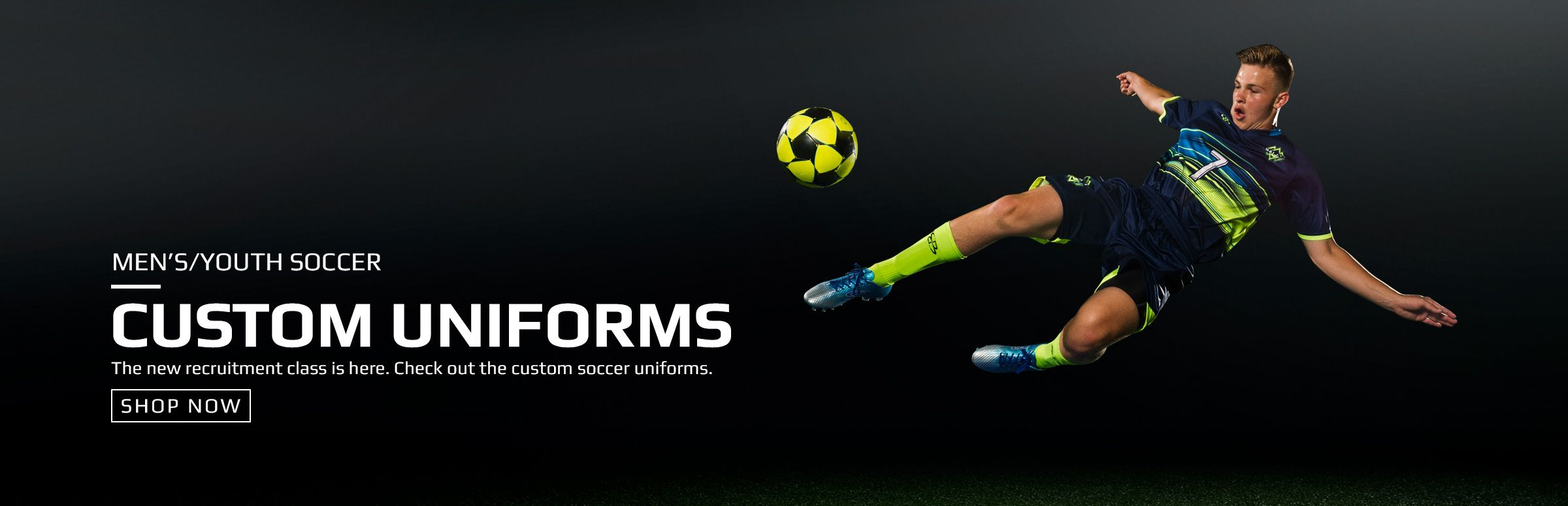 Boombah Custom Soccer Uniforms