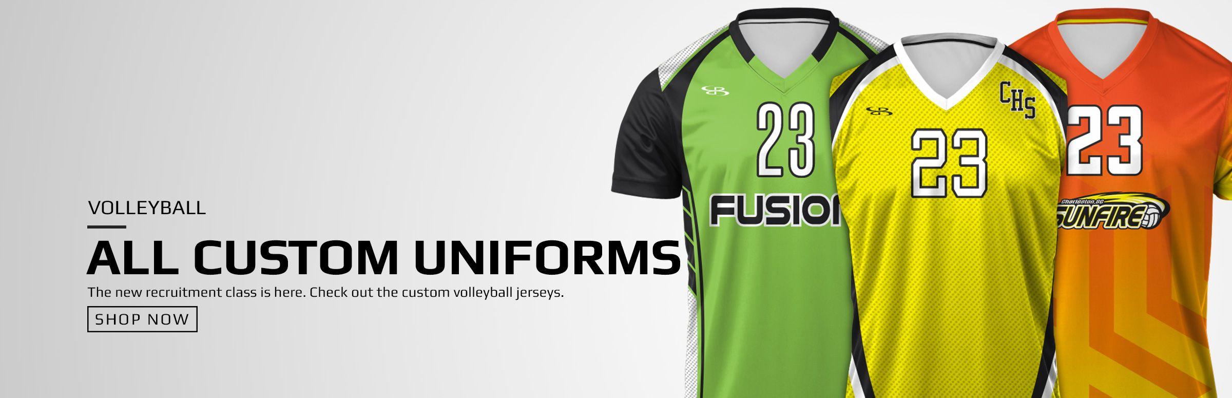 Boombah Custom Volleyball Uniforms