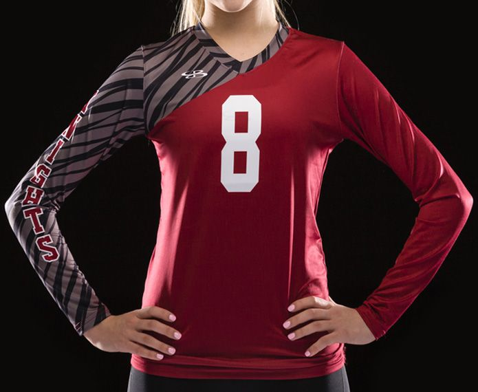 Fitted Long Sleeve Jerseys