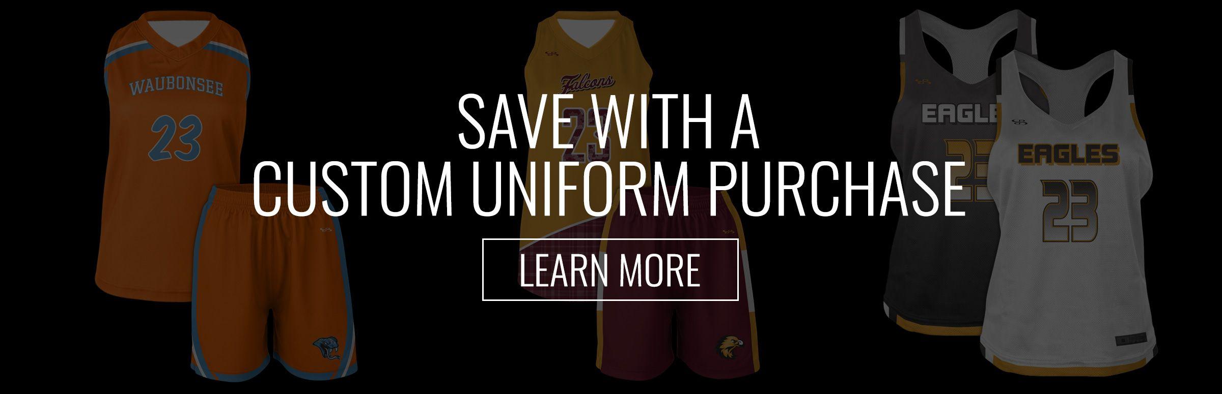 Boombah Custom lacrosse Uniforms