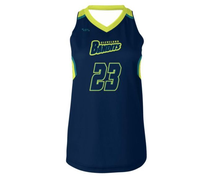 Sleeveless V-Neck Jersey