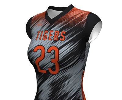 Fitted Cap Sleeve Jerseys